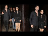 Sunny Leone Spotted with her husband Daniel Weber at a Restaurant | SpotboyE