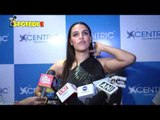 Neha Dhupia Thanks Media for her show 'No Filter Neha' at a Mobile Brand launch | SpotboyE