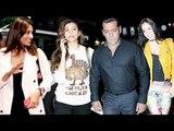 Salman Khan, Daisy Shah, Bipasha Basu Leaves for Dabangg Tour   SpotboyE