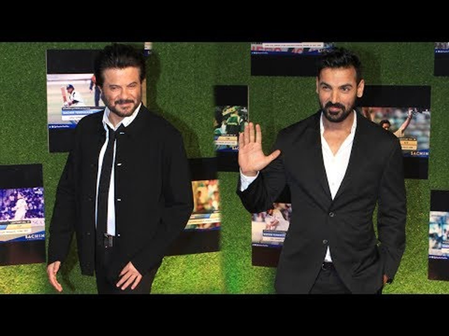 Anil Kapoor and John Abraham at Sachin: A Billion Dreams Premiere | SpotboyE
