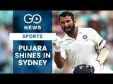 Pujara Ton Propels India At Sydney