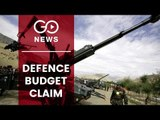 #GoBudget: Offence On Defence Claim