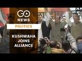 Kushwaha Joins UPA