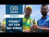 Sydney Set For ODI Series