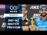 Bay Oval Awaits India, N. Zealand
