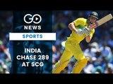 India Chase 289 In Sydney ODI