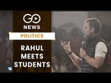 Rahul Interacts With DU Students