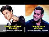 Bollywood Stars Who Earned More Than Hollywood Stars   Forbes List
