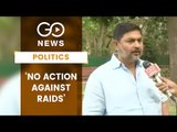 Cong Lashes Out At EC Inaction Over 'Raids'