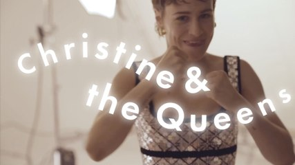 Christine and the Queens behind the scenes on her Cosmopolitan UK's cover shoot