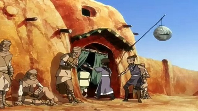 Avatar: The Last Airbender S02E10 The Library - The Last Airbender S02E10