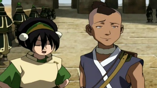 Avatar: The Last Airbender S02E13 Journey to Ba Sing Se, Part 2 - The Drill- The Last Airbender S02E13