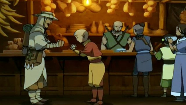 Avatar: The Last Airbender S02E14 City of Walls and Secrets- The Last Airbender S02E14