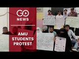 Protest By AMU Students