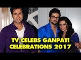 UNCUT- Ankit Gera, Raqesh Bapat and Ridhi Dogra Celebrates Ganpati with Family |  SpotboyE