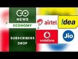 Airtel , Vodafone Idea Lose 3 Cr Subscribers In March
