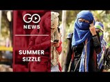 Heat Wave Sweeps North India