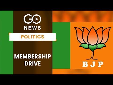 BJPs Membership Campaign