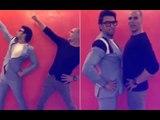 PARTNERS IN CRIME: Akshay Kumar & Ranveer Singh Shake It To The Pad Man Song | SpotboyE