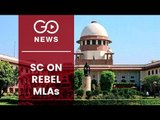 SC: Speaker To Decide On Rebel MLAs