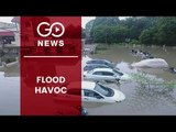Floods In Vadodara And Darbhanga