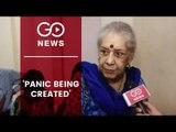 Congress: Centre Creating Panic In J&K