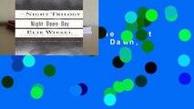 [GIFT IDEAS] The Night Trilogy: Night, Dawn, Day
