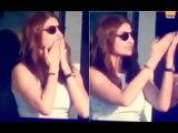 Do Not Miss Anushka Sharma's Flying Kisses To Hubby Virat Kohli From Pavilion | SpotboyE