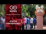 Statue Installation In DU Stirs Controversy