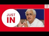 JUST IN: Salman Khurshid Speaks On Chidambaram's Arrest