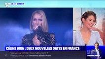 Céline Dion ajoute deux dates à sa tournée en France, les 3 et 4 juillet 2020