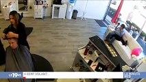 Grosse frayeur dans un salon de coiffure aux Etats-Unis : Un cerf explose la vitrine avant de pénétrer dans la boutique !