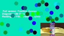 Full version  Practice, Assess, Diagnose: 180 Days of Reading for Fifth Grade Complete