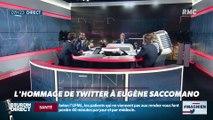 #Magnien, la chronique des réseaux sociaux : L'hommage de Twitter à Eugène Saccomano - 08/10