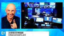 """Marine Le Pen accuse Emmanuel Macron de plagiat : """"Au voleur ! Pourquoi il me vole mon immigration ?"""" (Canteloup)"""