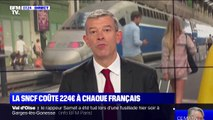 La SNCF coûte 224 euros à chaque Français