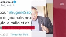 Mort d'Eugène Saccomano : Denis Brogniart, Bixente Lizarazu, Pascal Praud lui rendent de vibrants hommages