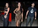 Sidharth Malhotra, Tara Sutaria, Rakul Preet Singh & Nora Fatehi At 'Marjaavaan' wrap up party