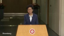 Lam: Hong Kong Can Handle Protests Without China for Now