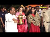 SPOTTED! Nita Ambani Visits Siddhivinayak Temple With IPL Trophy