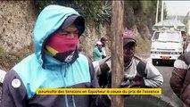 Équateur : violente contestation contre la hausse des prix des carburants