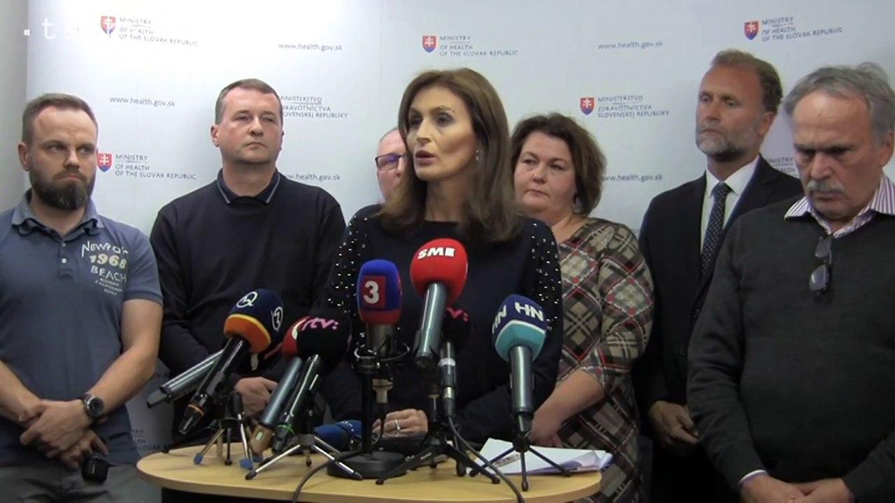 Ministerka A.Kalavská ponúkla tri možné riešenia ako reoperovať 15-ročného chlapca s nálezom na mozgu