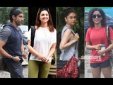 Farhan Akhtar, Parineeti Chopra, Aditi Rao Hydari, Sanya Malhotra Ace The Casual Gym Look | SpotboyE