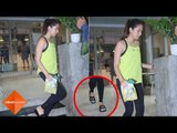 OMG! Here's How Much Mira Rajput's Gym Slippers Cost! | SpotboyE