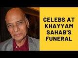 Khayyam Passes Away: Poonam Dhillon, Sonu Nigam, Gulzar Attend Funeral | SpotboyE