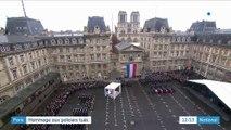 Paris : hommage aux fonctionnaires tués à la préfecture de police