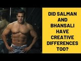 Did Sanjay Leela Bhansali And Salman Khan Have Creative Differences Over Inshallah? | SpotboyE