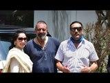 SPOTTED: Sanjay Dutt, Maanayata, Jackie Shroff and Ali Fazal Kick Start 'Prasthanam' Promotions