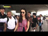 SPOTTED: Shraddha Kapoor at the airport leaving for Hyderabad to promote Saaho | SpotboyE