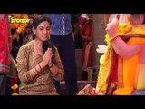 Sakshi Tanwar Visits Andhericha Raja For Ganpati Darshan | SpotboyE